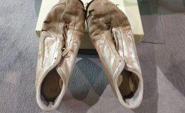 [:it]Tacco e Punta Giuliana, Tacco e Punta! Le scarpe di Giuliana Salce ai tempi del suo primato mondiale nella marcia 1985[:]